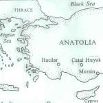 Deelkaart Anatolië.