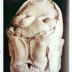 Mater Matuta. 6e eeuw v Chr. Megara Hyblaea, Syracuse, Sicilië.