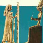 17 Kanaänitische vruchtbaarheidsgoden Asjera en echtgenoot