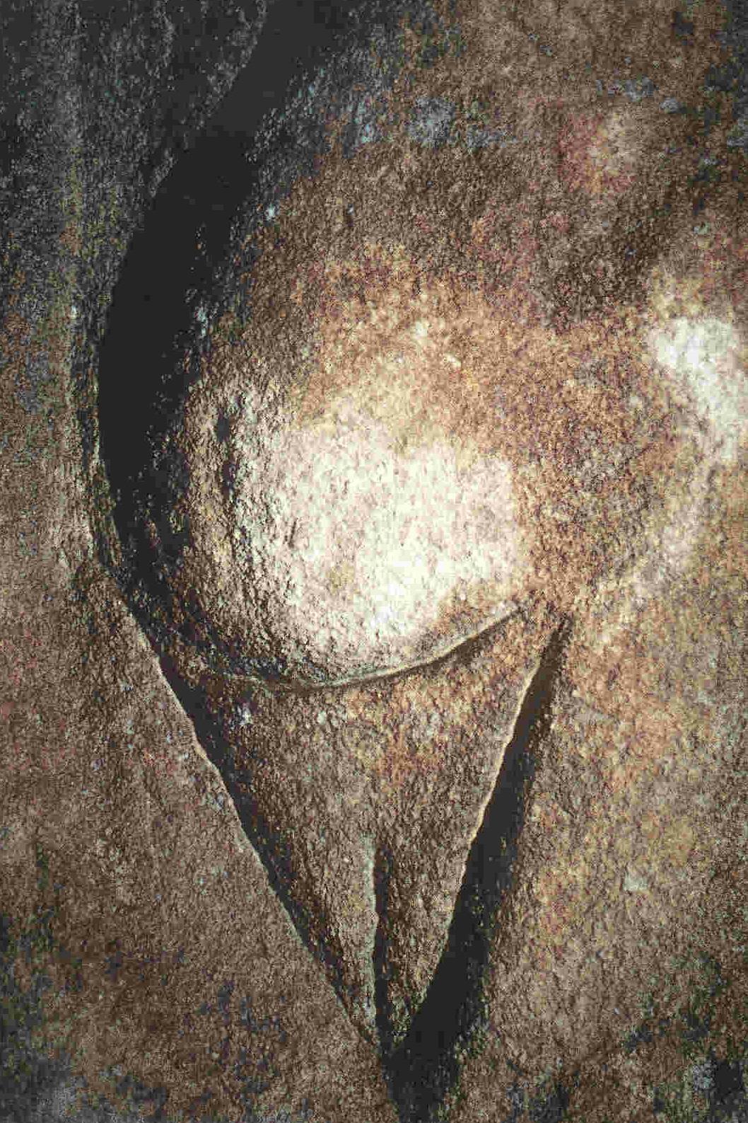 Detailopname van een van De Drie Gratiën