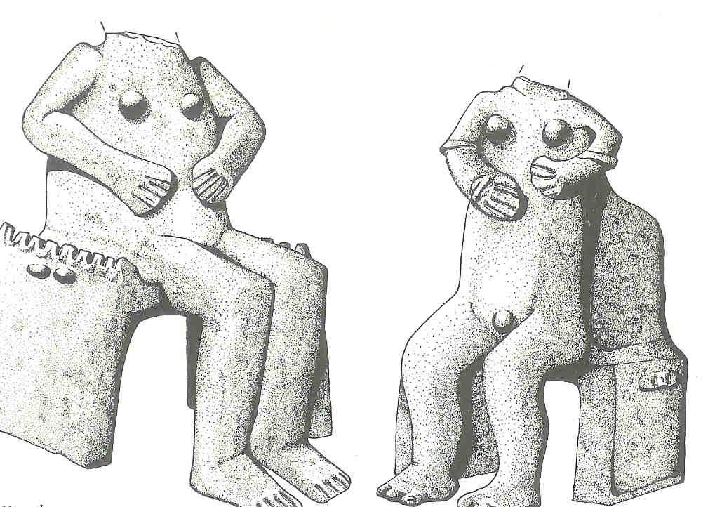 Jaargodin en jaargod. Tisza-cultuur, 4800-4700 v Chr.