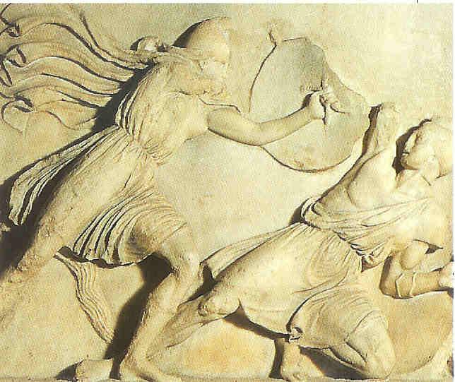Amazones. Zij verslaan in Turkije de Grieken, van Venus tot Madonna, 135.