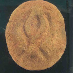 Vulva van 3,2 kg. Lepenski Vir bij de Donau. 6700-6000 v. Chr.