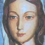 De Huilende Maria. Maas-Mechelen.