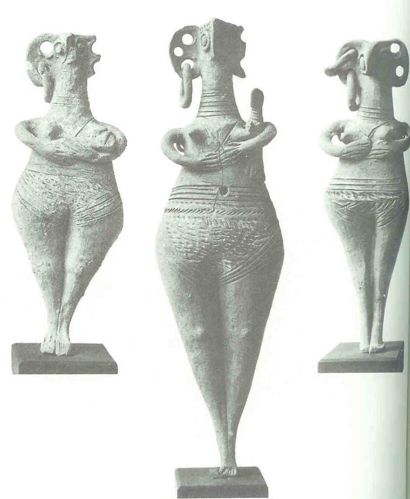 en handen aan borsten en diehoek, 2500 BC, Cyprus, Neum pl 8.