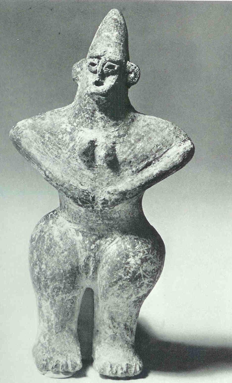 Terracotta statuette. 7e v. Chr. Iran.