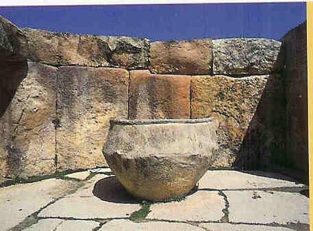 Reinigingsvat Tarxien.