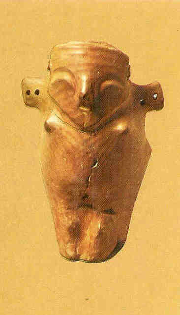 Vogelgodin. Vinca. 5000 v. Chr.