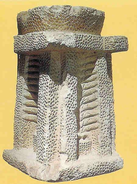 Altaar Hagir Qim met levensboom.