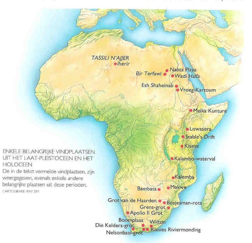 Kaart 10.000 - 200. Prehistorie.