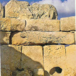 Orakelgat Tempel Hagar Qim.