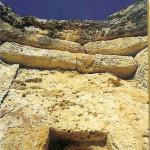 Orakelgat naar kleine orakelkamer in zuidelijke Mnajdra-tempel.