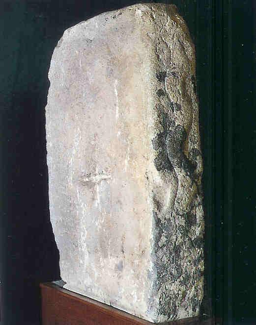 Slang op blok in zuidelijke Ggantija-tempel.