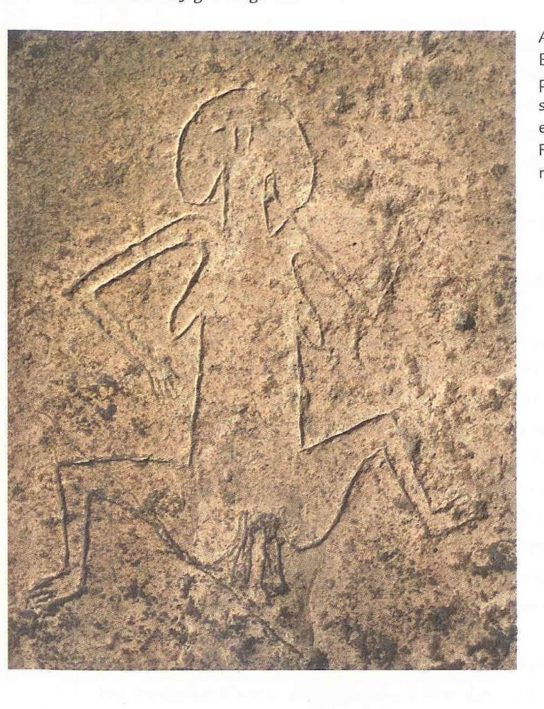 Barende Vrouwe. Göbekli Tepe. Op en in deze heuvel is een tempel ontdekt is uit 10.000 v. Chr.