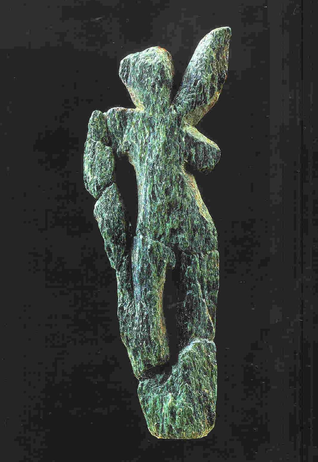 Venus van Galgenberg. 7.2 cm. 30.000 v. Chr. (vlak bij Willendorf). Thans in Naturhistorisches Museum te Wenen in Oostenrijk.