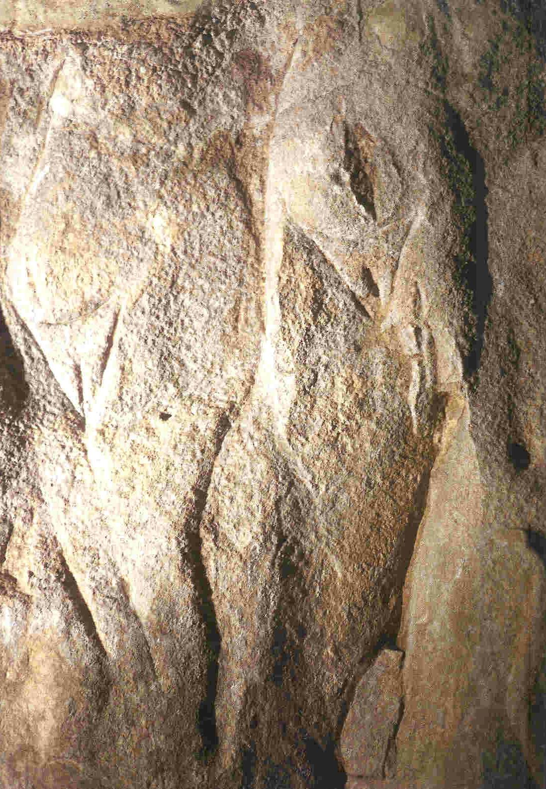 Detailopname van twee van De Drie Gratiën.