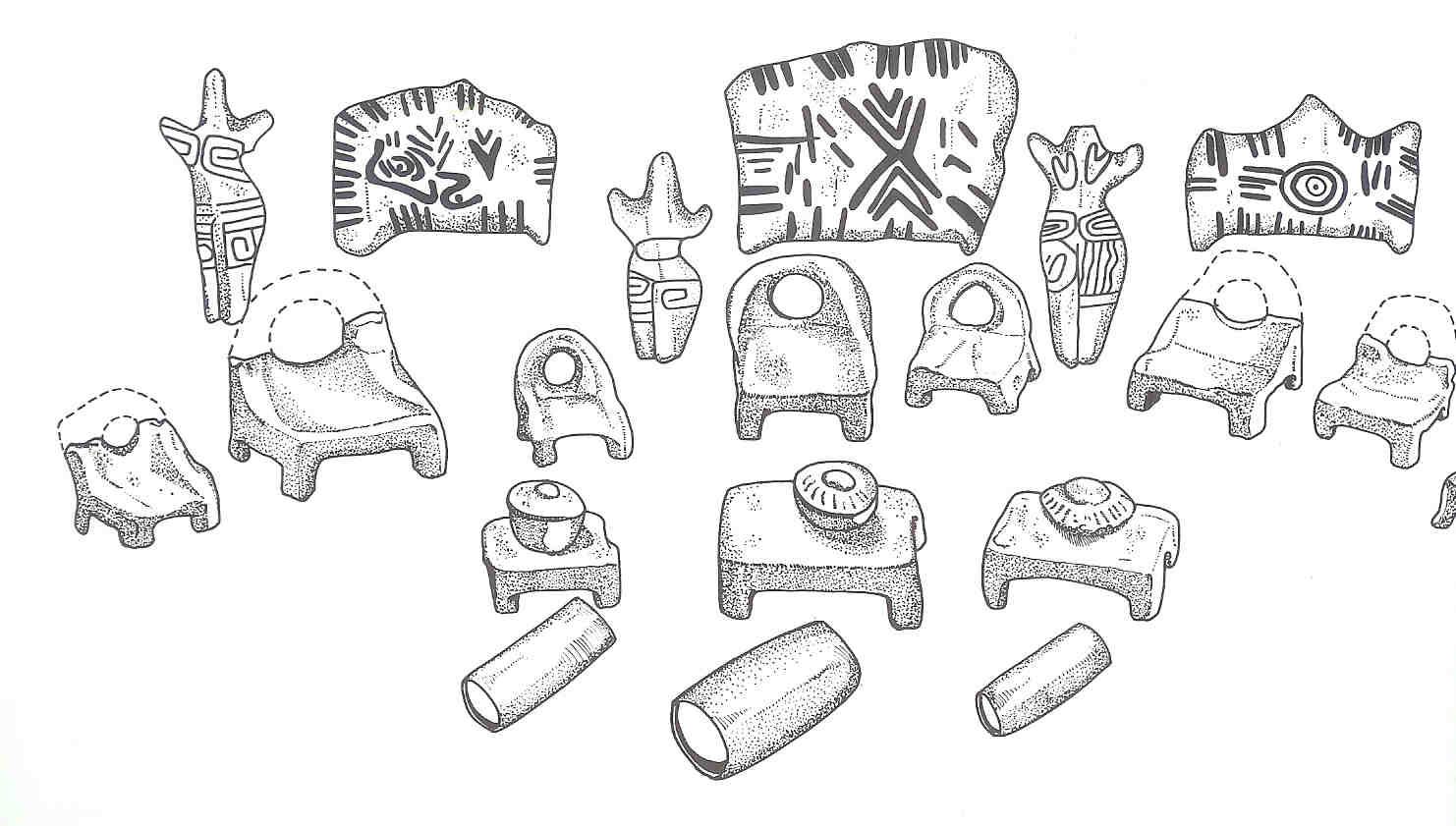 Schets van dit tempelinventaris.