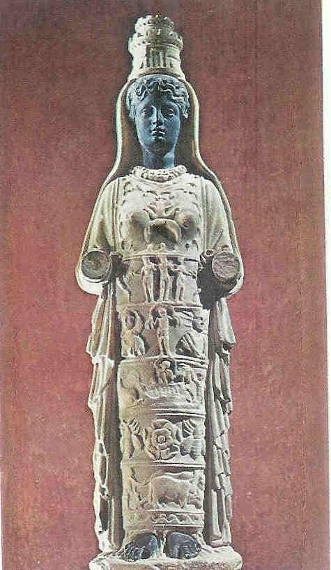 Afrodite van Aphrodisias. De grote stad van Afrodite die naar haar vernoemd werd in Turkije.