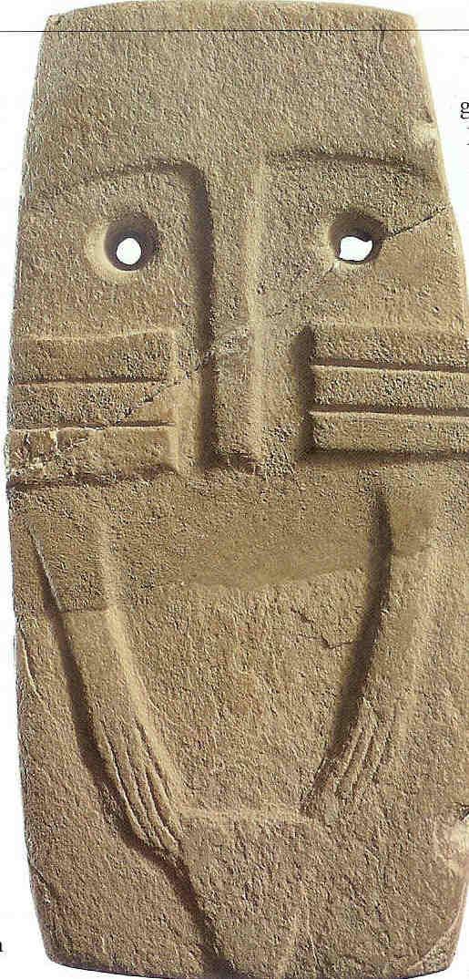 Ooggodinnen, Los Milliares, late Steentijd. De Wereldatlas van de Archeologie uit 2001, spreekt op p. 62 van 'stenen ogenafgoden die misschien godinnen voorstellen'.
